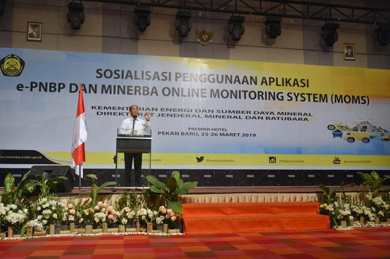 Kementerian Esdm Ri Media Center Arsip Berita Sistem Epnbp Minerba Dan Moms Arcandra Produksi Dimonitor Secara Online