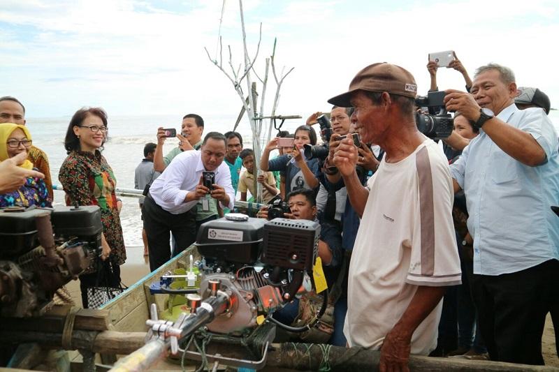 Harapan Nelayan Kota Padang Terwujud, Melaut Pakai LPG Lebih Untung