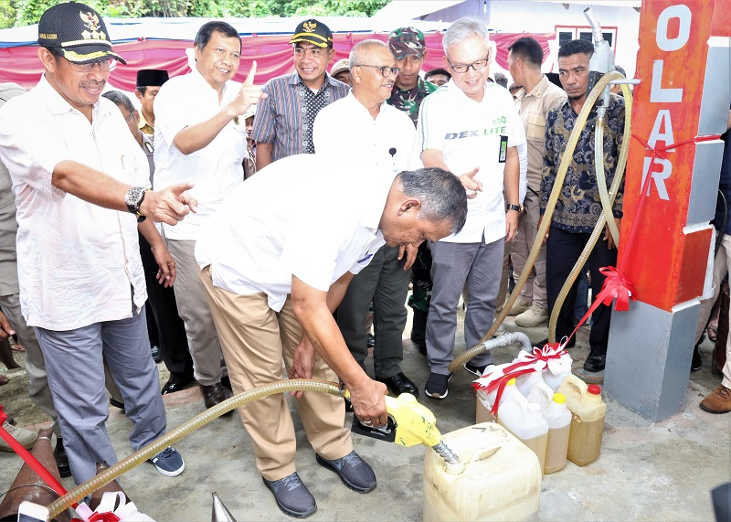 Masyarakat Halmahera Selatan Nikmati BBM Satu Harga